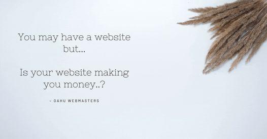web site making you money oahu hawaii